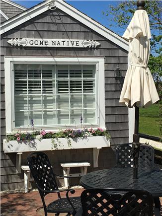 Siasconset, Sconset Nantucket vacation rental - Patio