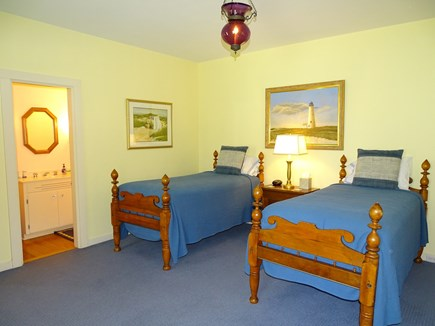 Polpis, Nantucket Nantucket vacation rental - Twin bedroom on main floor with private bath