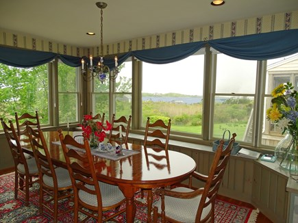 Polpis, Nantucket Nantucket vacation rental - Spacious dining area seating 10 w/ grand water views