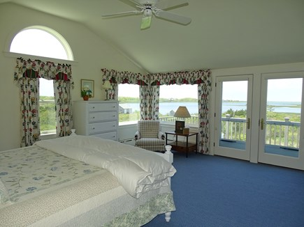 Polpis, Nantucket Nantucket vacation rental - Upstairs master king bedroom w/ private bath and private deck