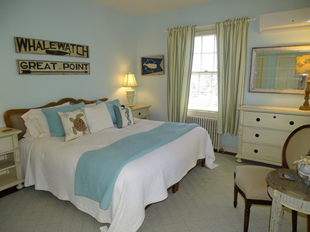 Polpis, Nantucket Nantucket vacation rental - Main floor bedroom w/ Hollywood bed (2 twins connecting)