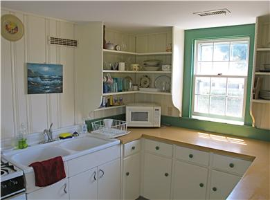 Brant Point Nantucket vacation rental - Guest House Kitchen