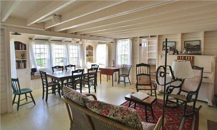 Brant Point Nantucket vacation rental - Main House Dining Room and Sitting Area
