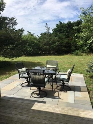 Surfside, Nantucket Nantucket vacation rental - Backyard patio