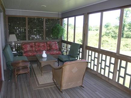 Nantucket town Nantucket vacation rental - Screen Porch