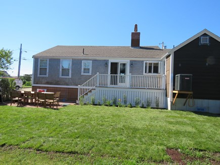 Brant Point Nantucket vacation rental - Back yard with outside shower