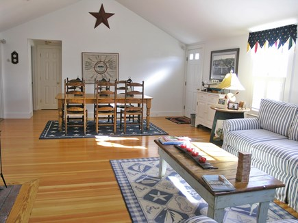 Brant Point Nantucket vacation rental - Open living and dining area