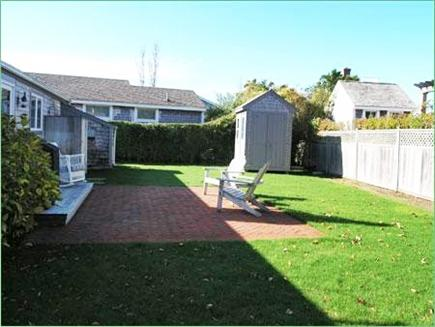 Brant Point Nantucket vacation rental - Yard