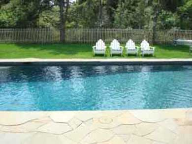 Mid-island, Edge of town Nantucket vacation rental - Pool and Patio