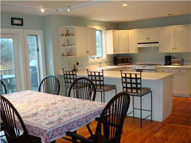 Mid-island, Edge of town Nantucket vacation rental - Kitchen