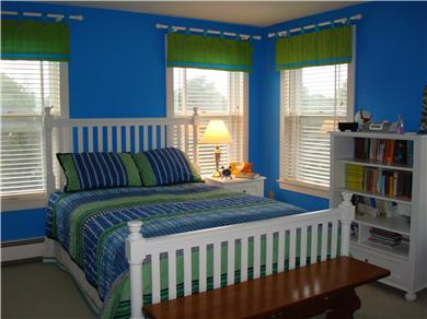 Mid-island, Edge of town Nantucket vacation rental - Master with Queen Bed