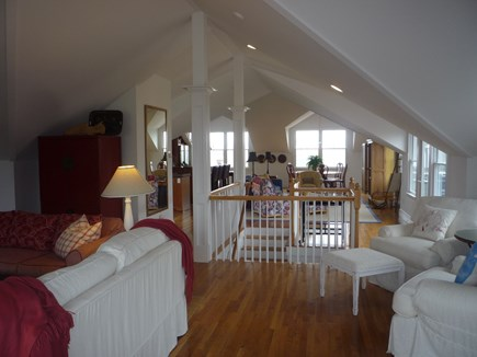 Brant Point Nantucket vacation rental - Upstairs from living room to kitchen and dinning room