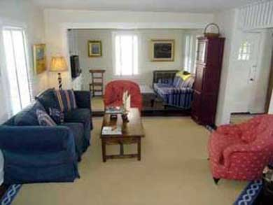 Siasconset Nantucket vacation rental - Beautifully decorated living room