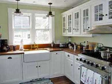 Siasconset Nantucket vacation rental - Fully-equipped gourmet kitchen with stainless steel appliances
