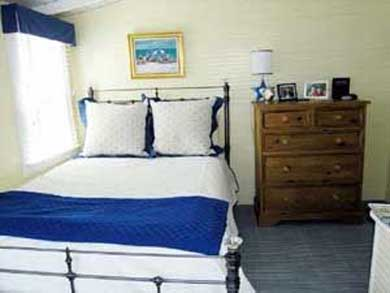 Siasconset Nantucket vacation rental - Charming Bedroom with water views!