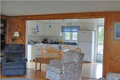 Mid-island Nantucket vacation rental - Kitchen View