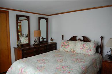 Mid-island Nantucket vacation rental - Master Bedroom With Queen Bed and Bath