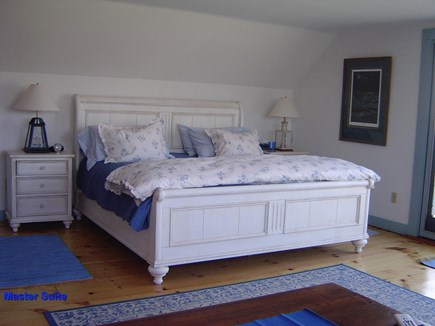 Quidnet Nantucket vacation rental - Upstairs Master Bedroom with King Size Bed