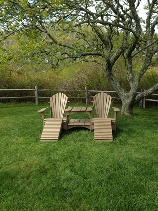 Quidnet Nantucket vacation rental - Slip Away to the Back of the Yard