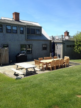 Quidnet Nantucket vacation rental - Enjoy the back Patio and Outdoor Shower