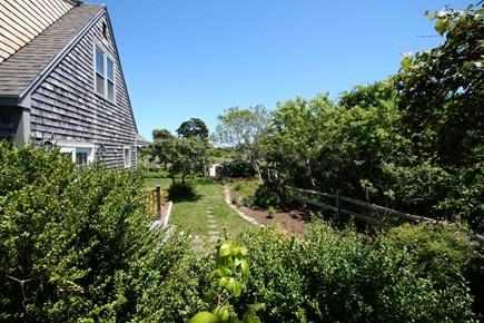 Quidnet Nantucket vacation rental - Cottage Front Yard