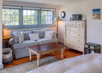 Quidnet Nantucket vacation rental - 2nd Floor Master Bedroom sitting area