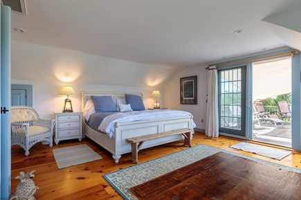 Quidnet Nantucket vacation rental - Upstairs Master with king size bed