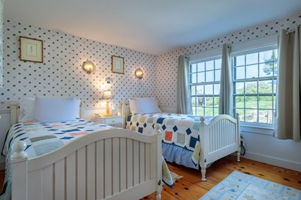Quidnet Nantucket vacation rental - 1st Floor bedroom with 2 extra long twin beds