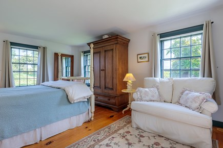 Quidnet Nantucket vacation rental - 1st Floor Master Bedroom with pull out sleeper sofa