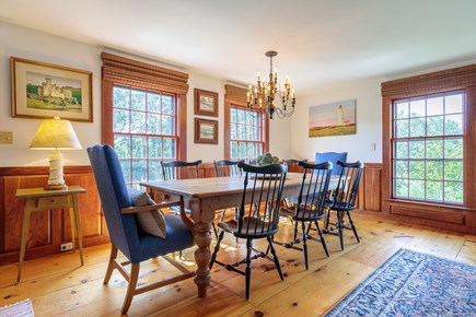 Quidnet Nantucket vacation rental - Dining room easily seats 10