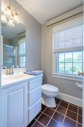 Quidnet Nantucket vacation rental - First floor cottage bath with tub and shower