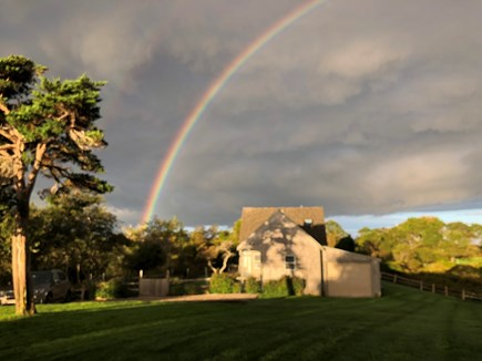 Quidnet Nantucket vacation rental - The end of the rainbow