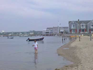 Nantucket Town Nantucket vacation rental - Walk to the beach just .3 of a mile away