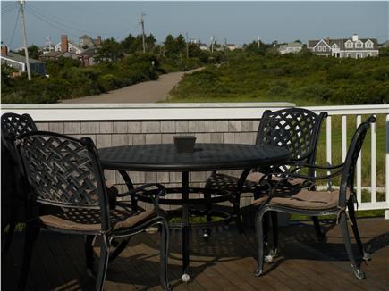 Surfside, Nantucket, Nobadeer beach Nantucket vacation rental - Second floor deck