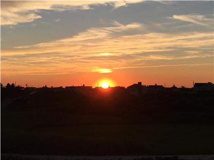 Surfside, Nantucket, Nobadeer beach Nantucket vacation rental - Sunset from the second floor deck