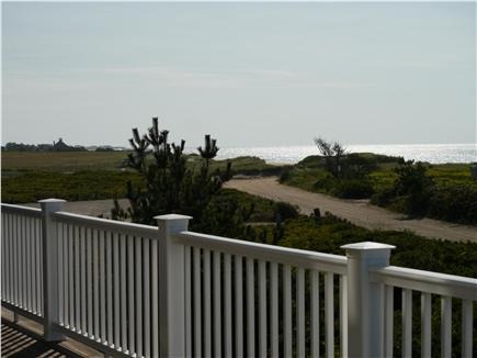 Surfside, Nantucket, Nobadeer beach Nantucket vacation rental - View toward the ocean from second floor deck