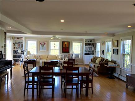 Wauwinet, Polpis Nantucket vacation rental - Dining area