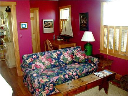Tom Nevers Nantucket vacation rental - First floor den; queen pullout