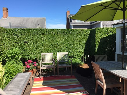 Siasconset Nantucket vacation rental - Private Patio to enjoy