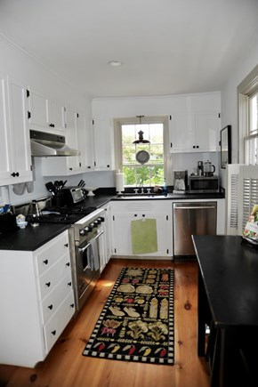 Siasconset Nantucket vacation rental - Kitchen w/ counter table w/ 2 stools