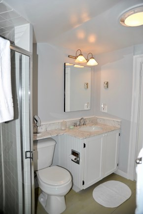 Siasconset Nantucket vacation rental - 2nd Floor bathroom with shower