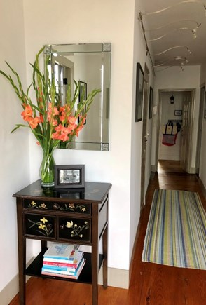 Siasconset Nantucket vacation rental - Welcoming and bright front entryway and hall