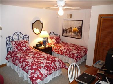 Nantucket town, Cliff Area-Edge of Town Nantucket vacation rental - Bedroom #4 on Lower Level Living Area