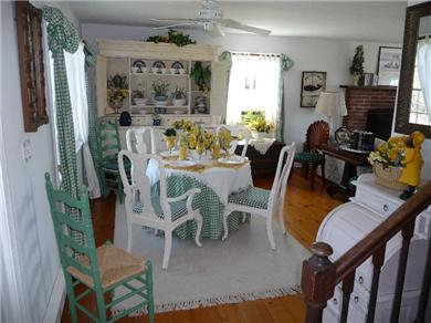 Nantucket town, Cliff Area-Edge of Town Nantucket vacation rental - Dining Area