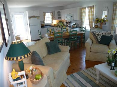 Nantucket town, Cliff Area-Edge of Town Nantucket vacation rental - Another photo of Combination Family Room/Eat-In-Kitchen