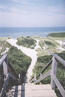 Nantucket town, Cliff Rd Nantucket vacation rental - It's only a 7-minute walk to the head of Steps Beach.