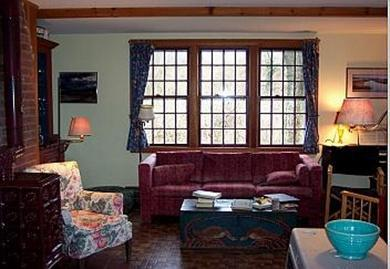 Nantucket town, Cliff Rd Nantucket vacation rental - The ''New'' Living Room, with sofa, HDTV, wood stove, etc.