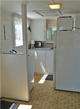 Nantucket town, Harborfront Nantucket vacation rental - Kitchen with supplies for dining in