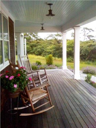 Tom Nevers Nantucket vacation rental - Rockers on the front porch welcome you to 'Incandescence'
