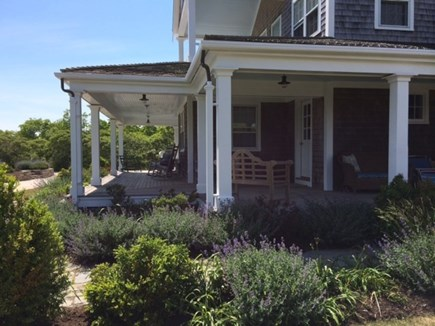 Tom Nevers Nantucket vacation rental - Side view of wraparound porch